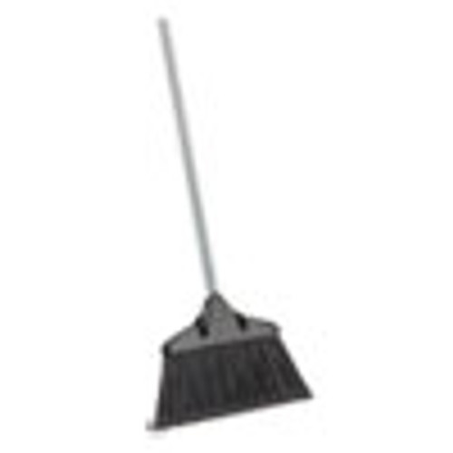Libman Commercial Housekeeper Broom  54  Overall Length  Steel Handle  Black Gray  6 CT (LBN499)