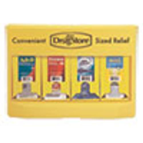 Lil' Drugstore Single-Dose Medicine Dispenser  105-Pieces  Plastic Case  Yellow (LIL71622)