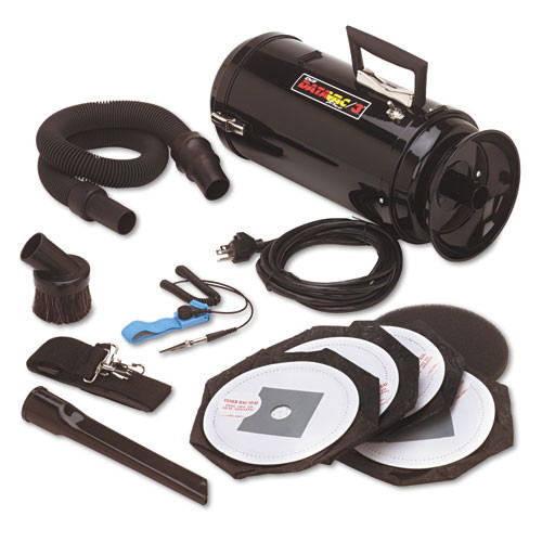 DataVac Metro Vac Anti-Static Vacuum Blower  Includes Storage Case HEPA   Dust Off Tools (MEVDV3ESD1)