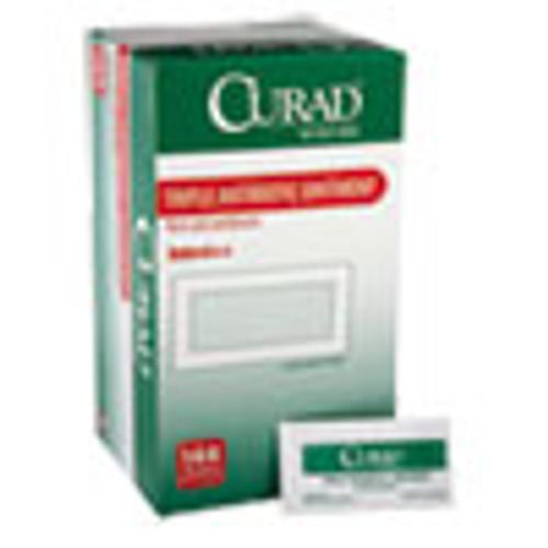 Curad Triple Antibiotic Ointment  0 9 g Foil Packet  144 Box (MIICUR001209)