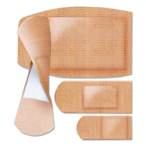 Curad Flex Fabric Bandages  Assorted Sizes  100 per Box (MIICUR0700RB)