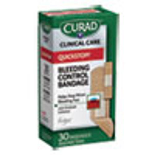 Curad QuickStop Flex Fabric Bandages  Assorted  30 Box (MIICUR5245V1)