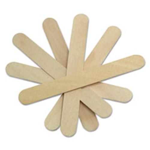 Medline Non-Sterile Tongue Depressors  Wood  6   500 Box (MIIMDS202065)