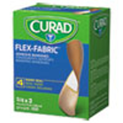 Curad General Purpose Bandages  3 4  x 3   100 Box (MIINON25650)
