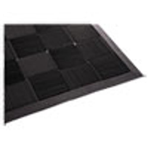 Guardian Parquet Wiper Scraper Mat  24 x 36  Black (MLLPARQUET2X3)