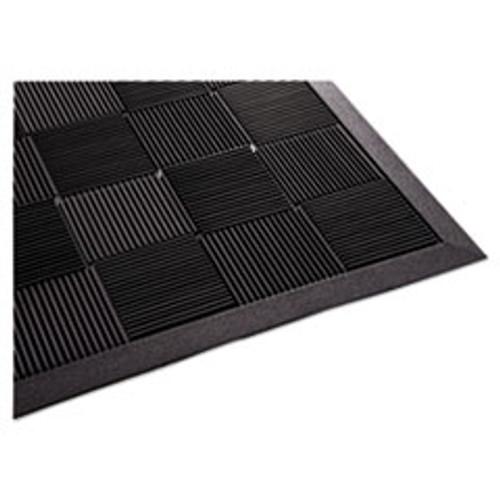 Guardian Parquet Wiper Scraper Mat  36 x 60  Black (MLLPARQUET3X5)