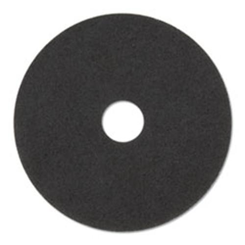 3M Stripper Floor Pads 7200  14  Diameter  Black  5 Carton (MMM08376)