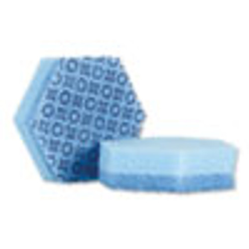 Scotch-Brite PROFESSIONAL Low Scratch Scour Sponge 3000HEX  4 45  x 3 85   Blue  16 Carton (MMM3000HEX)