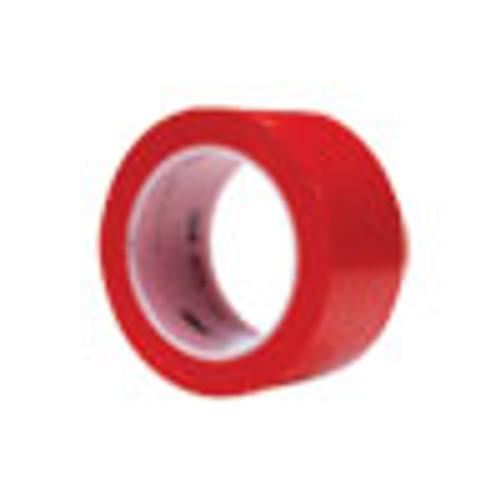 3M Vinyl Floor Marking Tape 471  2  x 36 yds  Red (MMM471IWRED)