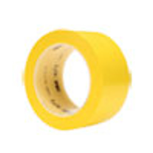 3M Vinyl Floor Marking Tape 471  2  x 36 yds  Yellow (MMM471IWYLW)