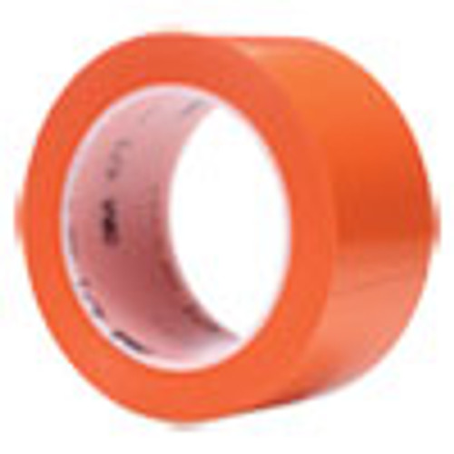 3M Vinyl Floor Marking Tape 471  2  x 36 yds  Orange (MMM471ORG)