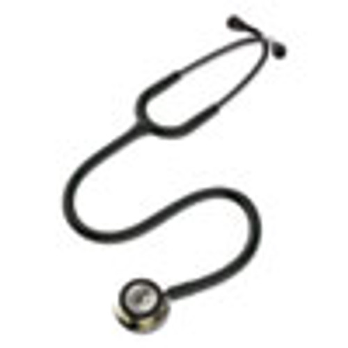 3M Littmann Classic III Monitoring Stethoscope  Double-Sided Chestpiece  27  Black (MMM586127)
