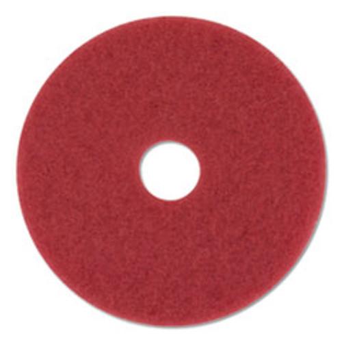 3M Buffer Floor Pads 5100  20  Diameter  Red  10 Carton (MMM59258)