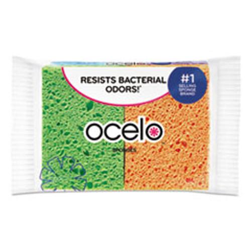 ocelo Vibrant Color Sponges  4 7 x 3 x 0 6  Assorted Colors  4 Pack (MMM7274FD)