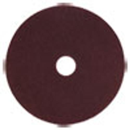 Scotch-Brite Surface Preparation Pad Plus  20  Diameter  Maroon  5 Carton (MMMSPPP20)