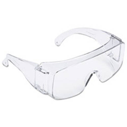 3M Tour Guard V Safety Glasses  One Size Fits Most  Clear Frame Lens  20 Box (MMMTGV0120)