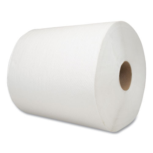 Morcon Tissue Morsoft Universal Roll Towels  1-Ply  8  x 700 ft  White  6 Rolls Carton (MOR6700W)