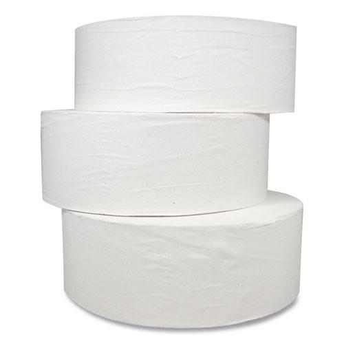 Morcon Tissue Jumbo Bath Tissue  Septic Safe  2-Ply  White  1000 ft  12 Carton (MORM99)