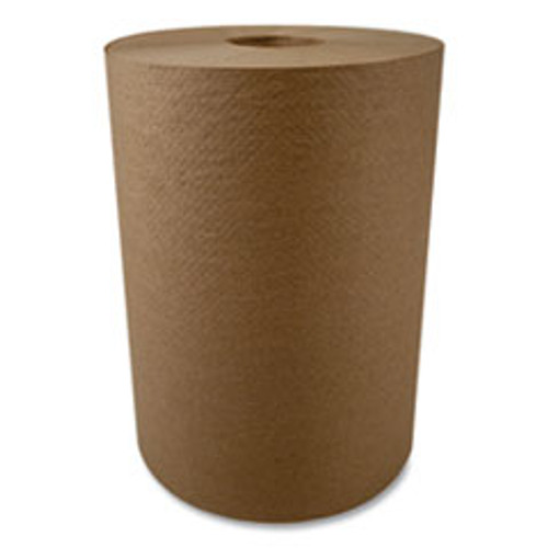 Morcon Tissue 10 Inch Roll Towels  1-Ply  10  x 800 ft  Kraft  6 Rolls Carton (MORR106)