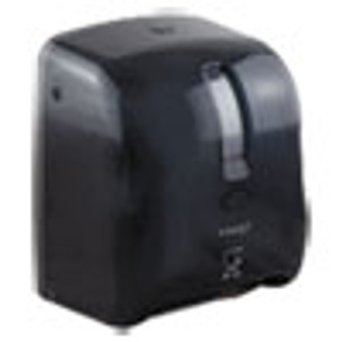 Morcon Tissue Valay Proprietary Roll Towel Dispenser  11 75  x 14  x 8 5   Black (MORVT1008)