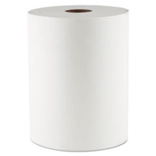 Morcon Tissue 10 Inch TAD Roll Towels  1-Ply  10  x 550 ft  White  6 Rolls Carton (MORVT106)