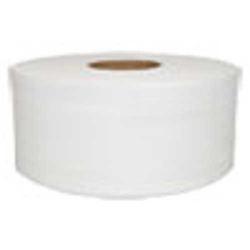 Morcon Tissue Jumbo Bath Tissue  Septic Safe  2-Ply  White  750 ft  12 Rolls Carton (MORVT110)