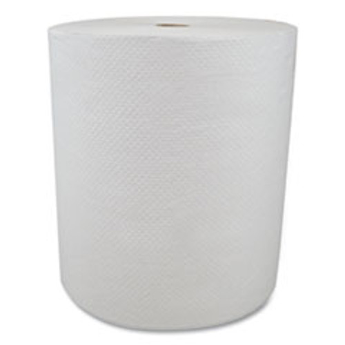 Morcon Tissue Valay Proprietary Roll Towels  1-Ply  8  x 800 ft  White  6 Rolls Carton (MORVW888)