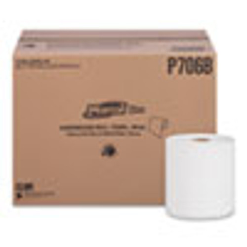 Marcal PRO Hardwound Roll Paper Towels  1-Ply  7 7 8  x 600ft  12 Rolls Carton (MRCP706B)