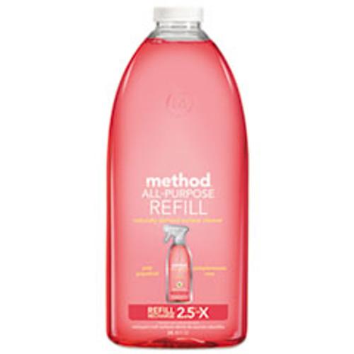 Method All Surface Cleaner  Grapefruit Scent  68 oz Plastic Bottle  6 Carton (MTH01468CT)