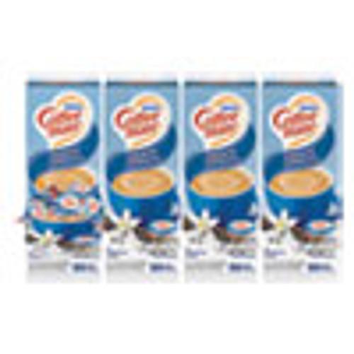 Coffee mate Liquid Coffee Creamer  French Vanilla  0 38 oz Mini Cups  50 Box  4 Boxes Carton  200 Total Carton (NES35170CT)
