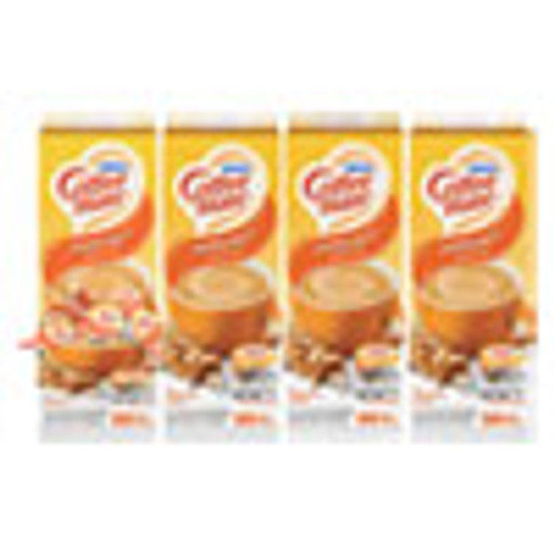 Coffee mate Liquid Coffee Creamer  Hazelnut  0 38 oz Mini Cups  50 Box  4 Boxes Carton  200 Total Carton (NES35180CT)