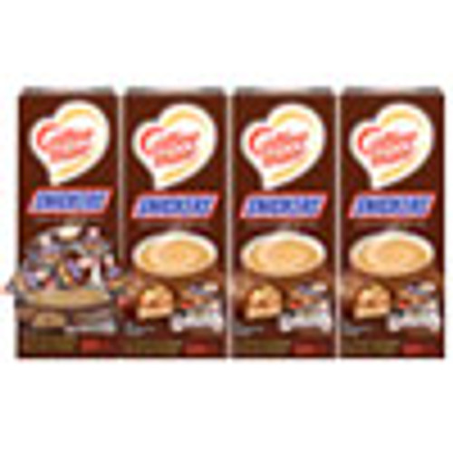 Coffee mate Liquid Coffee Creamer  Snickers  0 38 oz Mini Cups  200 Cups Carton (NES61425CT)