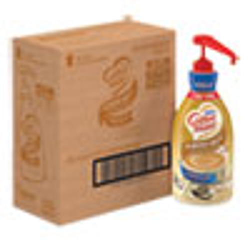 Coffee mate Liquid Coffee Creamer  Vanilla Almond Milk  1 5 L Pump Bottle  2 Carton (NES65922CT)
