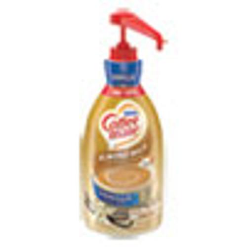 Coffee mate Liquid Coffee Creamer  Vanilla Almond Milk  1 5 L Pump Bottle (NES65922EA)