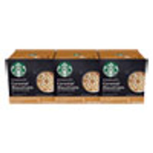 NESCAF?‰ Dolce Gusto Starbucks Coffee Capsules  Caramel Macchiato  36 Carton (NES94273)