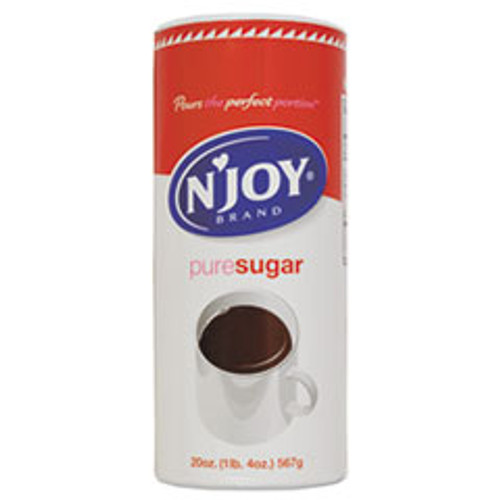 N'Joy Pure Sugar Cane  20 oz Canister (NJO90585)