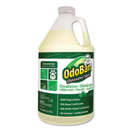OdoBan Concentrated Odor Eliminator and Disinfectant  Eucalyptus  1 gal Bottle (ODO911062G4EA)