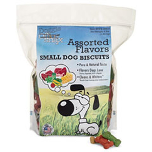 Office Snax Doggie Biscuits  Assorted  4 lb Bag (OFX00612)