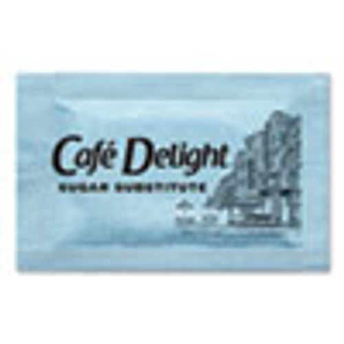 Caf?© Delight Blue Sweetener Packets  0 08 g Packet  2000 Packets Box (OFX11103)