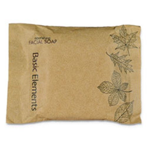 Basic Elements Facial Soap Bar  Clean Scent  0 71 oz Box  500 Carton (OGFSPBELFL)