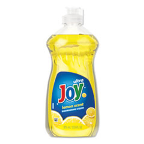 Joy Dishwashing Liquid  Lemon Scent  12 6 oz Bottle (PBC00614EA)