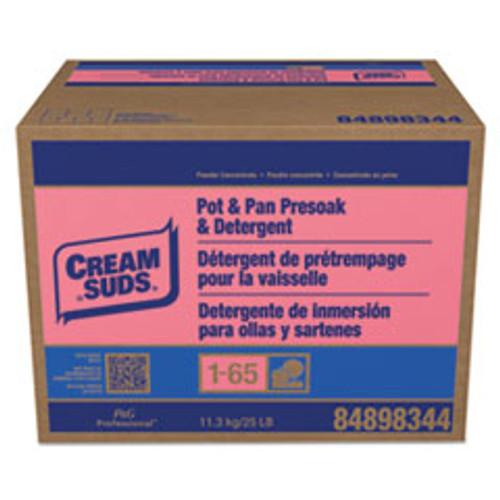 Cream Suds Manual Pot   Pan Detergent w o Phosphate  Baby Powder Scent  Powder  25 lb  Box (PBC02120)