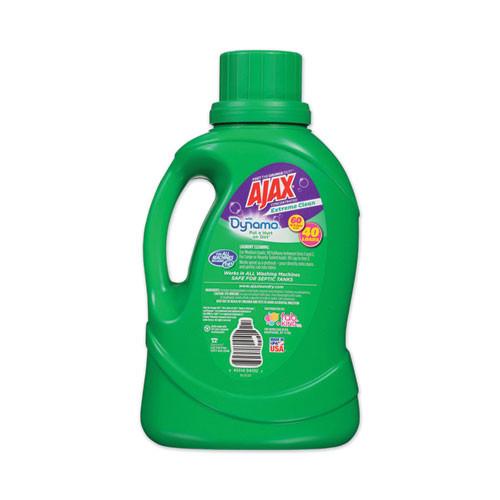 Ajax Laundry Detergent Liquid  Extreme Clean  Mountain Air Scent  40 Loads  60 oz Bottle  6 Carton (PBCAJAXX36)