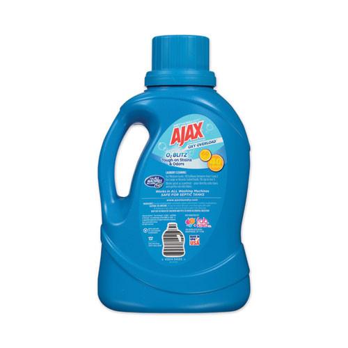 Ajax Laundry Detergent Liquid  Oxy Overload  Fresh Burst Scent  40 Loads  60 oz Bottle  6 Carton (PBCAJAXX37)