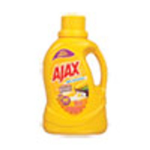 Ajax Laundry Detergent Liquid  Stain Be Gone  Linen and Limon Scent  40 Loads  60 oz Bottle  6 Carton (PBCAJAXX41)
