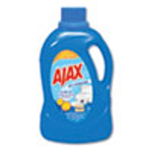 Ajax Laundry Detergent Liquid  Oxy Overload  Fresh Burst Scent  89 Loads  134 oz Bottle  4 Carton (PBCAJAXX42)