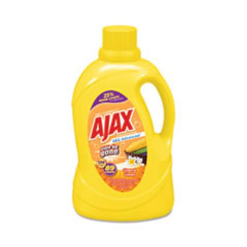 Ajax Laundry Detergent Liquid  Oxy Overload  Linen and Limon Scent  89 Loads  134 oz Bottle  4 Carton (PBCAJAXX43)