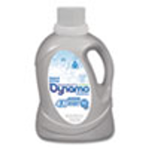 Dynamo Laundry Detergent Liquid 4X  Naked and Free  Unscented  60 Loads  60 oz Bottle  6 Carton (PBCDYNMO23)