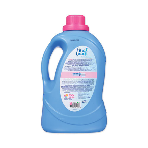 Final Touch Fabric Softener  Spring Fresh Scent  67 Loads  134 oz Bottle  4 Carton (PBCFINTO37)
