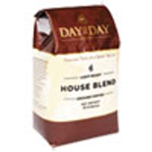 Day to Day Coffee 100  Pure Coffee  House Blend  Ground  28 oz Bag  3 Pack (PCO33750)